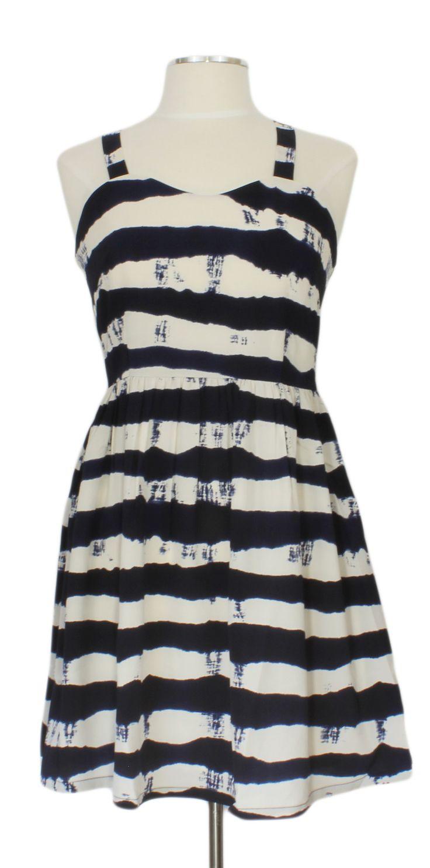 Drift Away Dress @ Ever Rose #sugarhillboutique #blue #nautical #stripes #dress