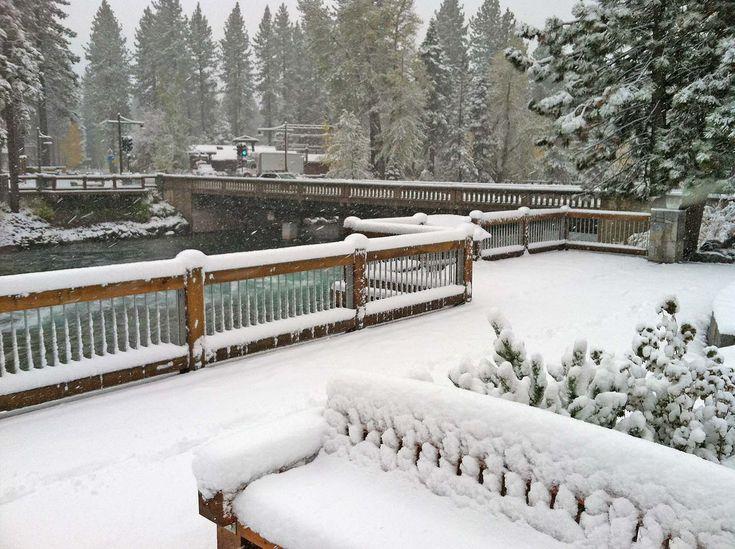 Lake Tahoe Snow Before Halloween! | Tahoe Luxury Properties