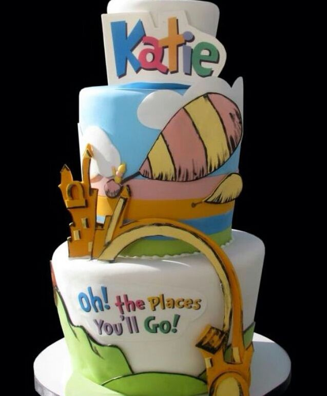 Oh The Places You 39 Ll Go Cake Graduation Pinterest
