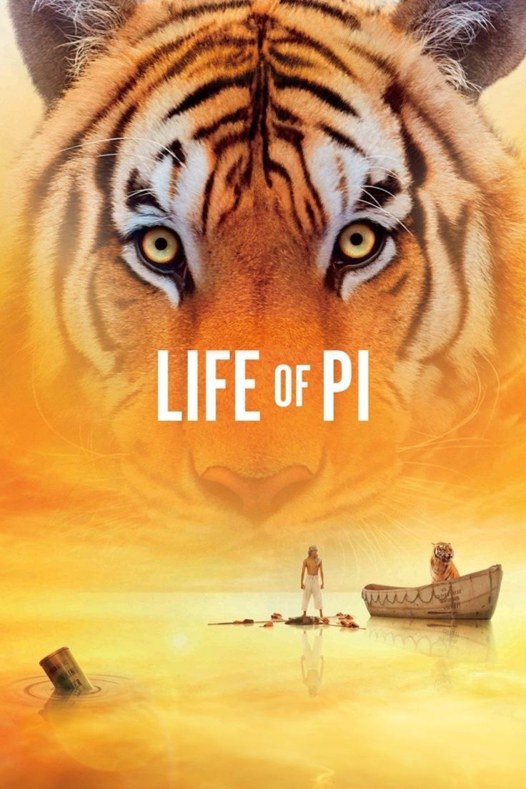 2012 Film: Embark on the adventure of a lifetime in this visual masterpiece from Oscar winner Ang Lee*, based on the best-selling novel. After a cataclysmic shipwreck, an Indian boy named Pi finds himself stranded on a lifeboat with a ferocious Bengal tiger. Together, they face nature's majestic grandeur and fury on an epic journey of discovery.