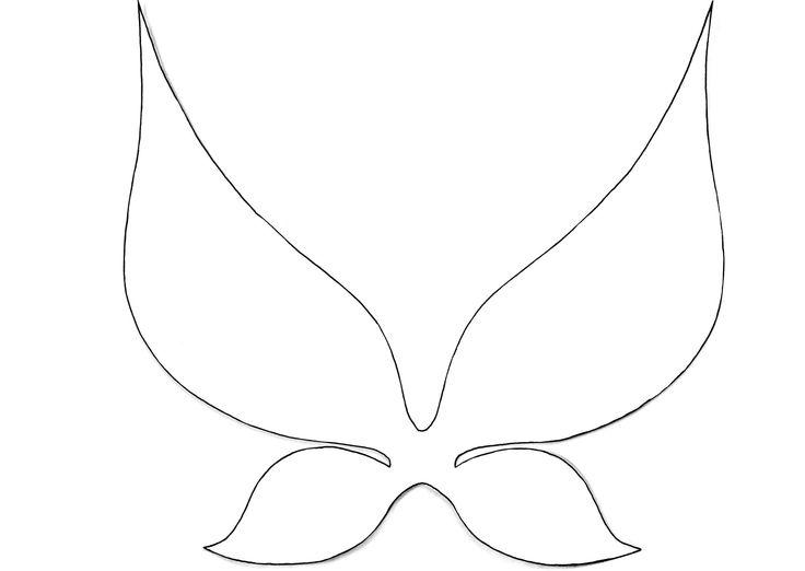 Every Fairy Needs Wings Simple Wings Diy Fairies Co Diy Wings Fairy Wings Tinkerbell Wings