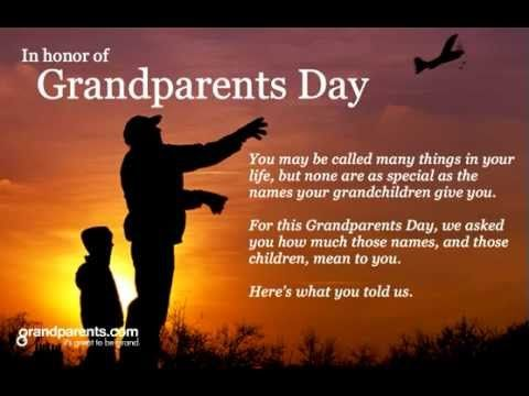 Grandparents day speech - YouTube