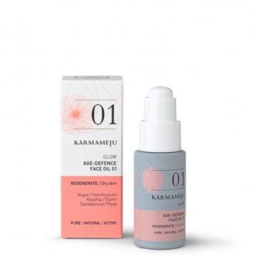 Ansigts olie - Glow 01 - til tør og moden hud