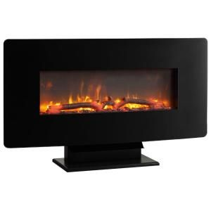 Hampton Bay Brookline 36 In Wall Mount Electric Fireplace For The Home Pinterest Wall