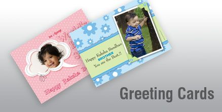 Get personalized greeting cards for your loved ones.