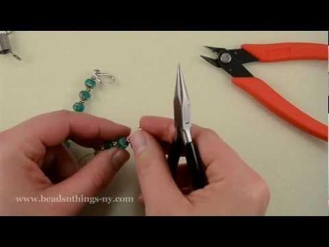 Basic Beading Tutorial:  Single Strand Bracelet
