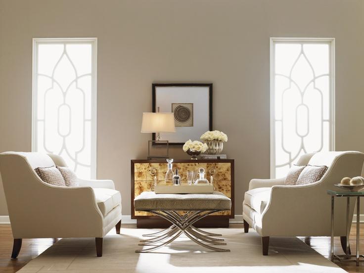Sofia Love Seat Lexington Brands through Walter E Smithe Furniture www.smithe.com