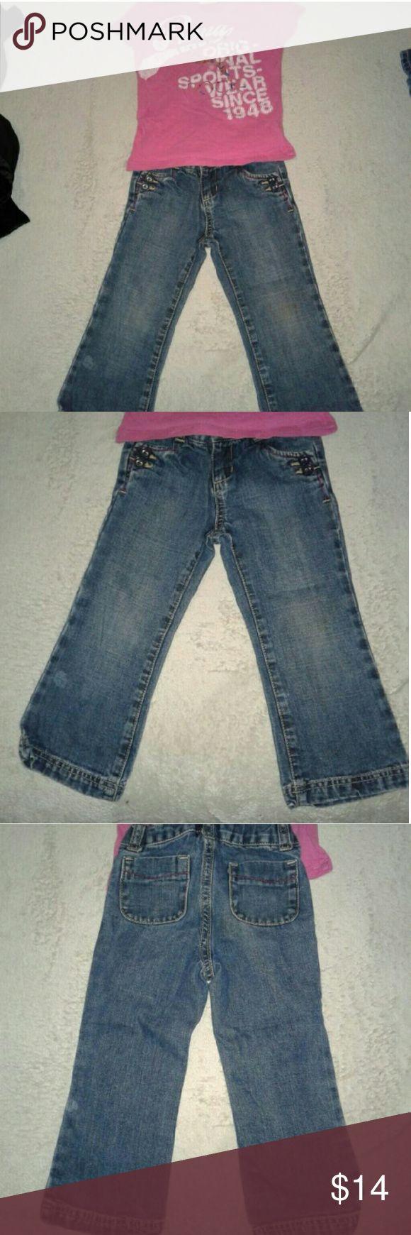 Puma Shirt, Old Navy Jeans Girls 3T Bundle Girls Old Navy Jeans and Puma Girls Shirt....Size 3T... Puma/ Old Navy Matching Sets