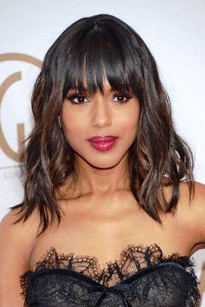 black women shoulder length