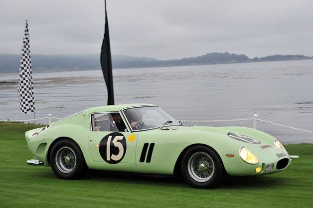 Lime Green 1962 Ferrari 250 GTO Sells for Record Smashing $35 Million