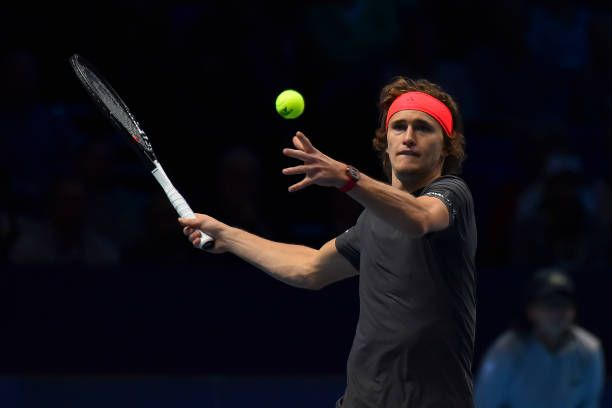 Alexander Zverev Of Germany Is Pictured In Action During His Tennis Drills Tennis Racket Tennis Court Photo Shoot Tennis Player Tennis Workout Tennis Tips Avec Images