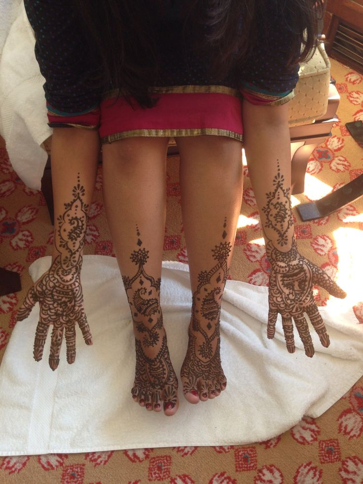 Indian Bride's Mendhi in Istanbul with Dreamer
