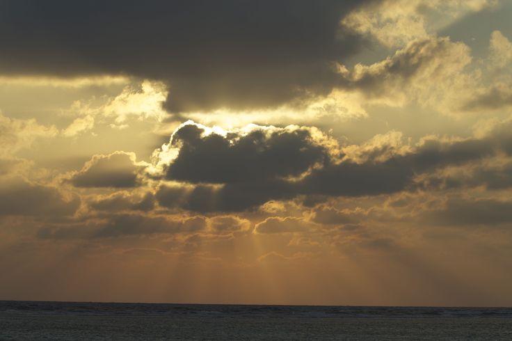 Sunrise at Meeru Island