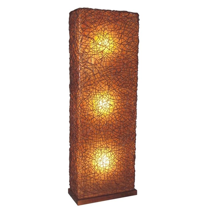 Crafted Home Decorative Dudley Geometric Transitional Floor Lamp