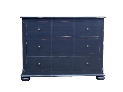 Ema chest of drawers from Canalside Interiors  also available in white