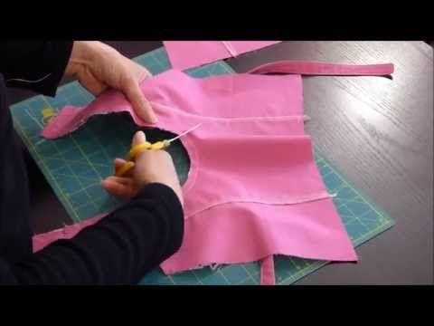Brunette - Etape 5 : La doublure - YouTube