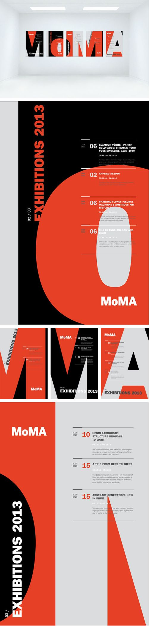 Poster 60 x 80 design - Moma Exhibit Poster Series