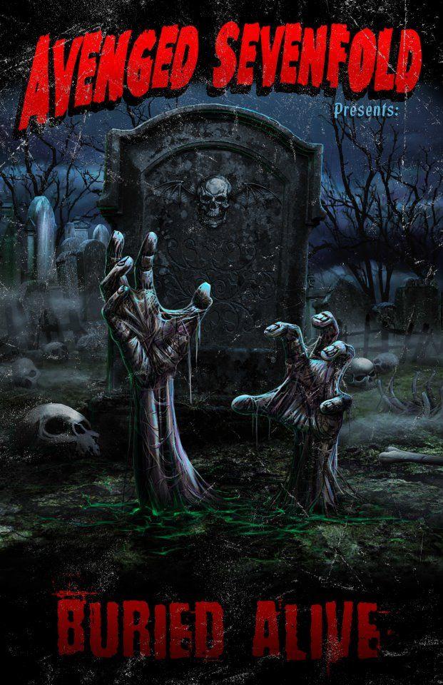 Avenged Sevenfold Poster Avenged Sevenfoled Music Avenged