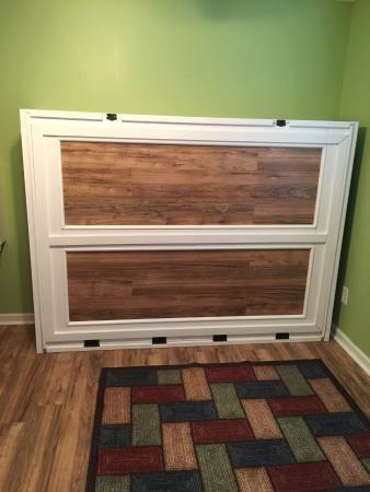 Queen Murphy Bed DIY
