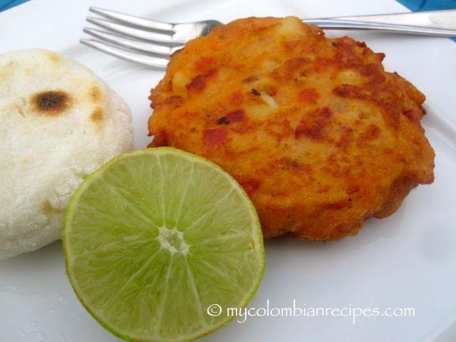 Tortas de Pescado Seco (Colombian-Style Salted Cod Fish Cakes)