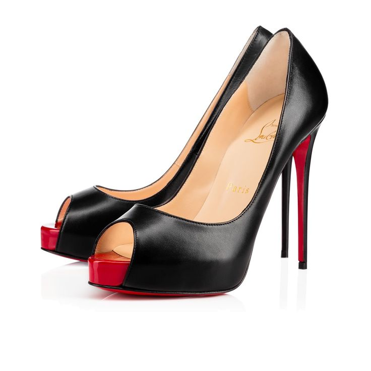Women Shoes - New Very Prive Kid/patent - Christian Louboutin