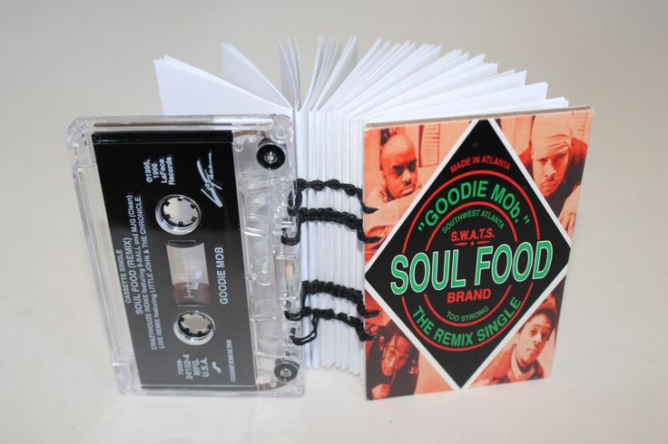 A personal favorite from my Etsy shop https://www.etsy.com/listing/201732736/goodie-mob-soul-food-single-cassette