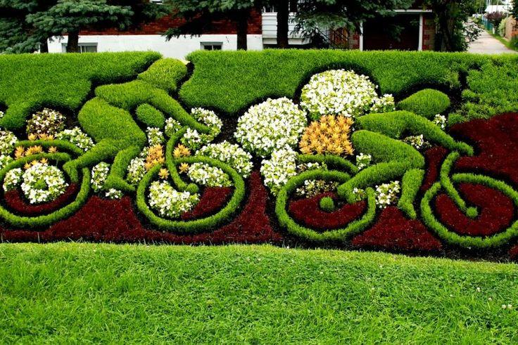 Interesting Garden Design