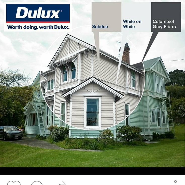 Exterior Paint Colour By Dulux Weathershield Dulux Inspirationspaint Greg