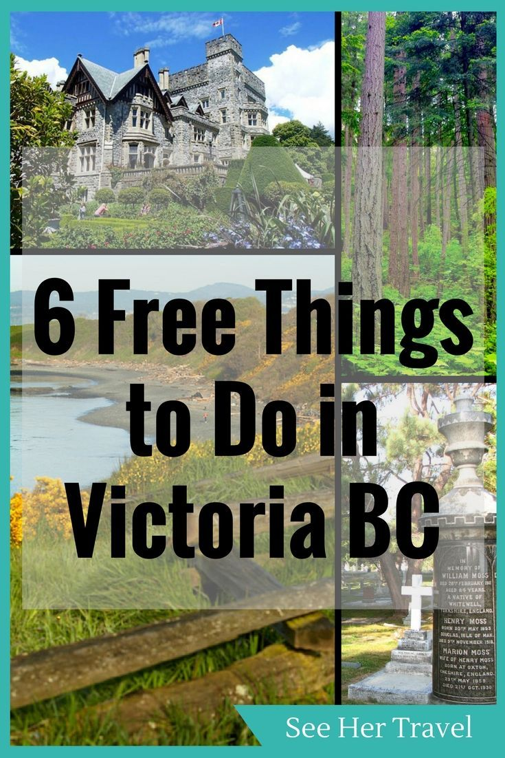 Tourism in Canada can be expensive, but travel to Victoria BC doesn't have to break the bank. There are many free things to do in Victoria, from self guided walking tours, to history hunting in the Ross Bay Cemetery, to enjoying the natural beauty of Vancouver Island! Here are 6 Cheap Ways to Enjoy Victoria BC