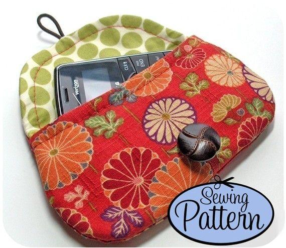 DIY fabric clutch