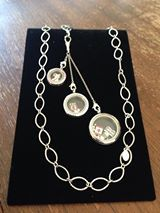 Our new South Hill Designs locket extender, looks so good in person!  www.SouthHillDesigns.com/TammyTamayo
