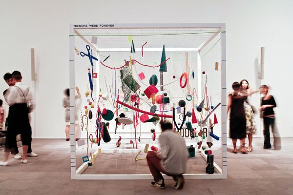 Photo: Sebastian Mayer / AEIOU / Tremors were Forever: Remember Le Corbusier, Workshop / Exhibition, Mori Art Museum, Tokyo, 2007
