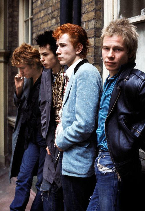 Sex Pistols - when they were at the height of their powers. #indigos #focusonjeans®