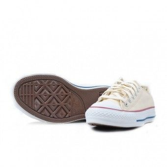 Converse Shoes Beige Chuck Taylor All Star Classic Low