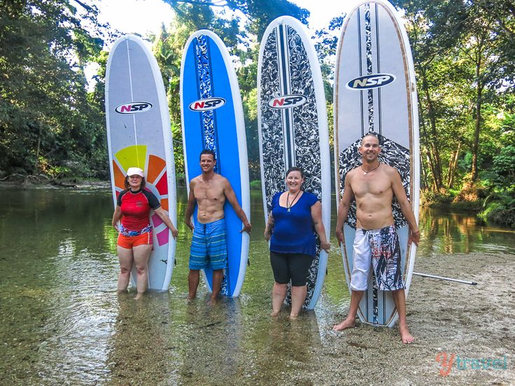 Stand Up Paddle Boarding (SUP) on the Mossman River with Windswell