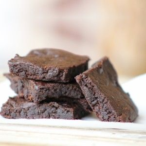AIP carob brownies! Super fudgy! Egg-free, nut-free, gluten free, dairy free, grain-free! From He won't know it's paleo.