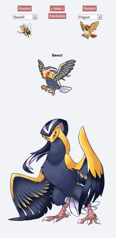 pokemon fusion pictures beeot