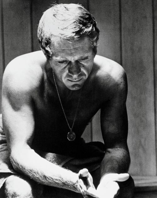 mcqueen...be still my beating <3...definitely reminds me of Daniel Craig