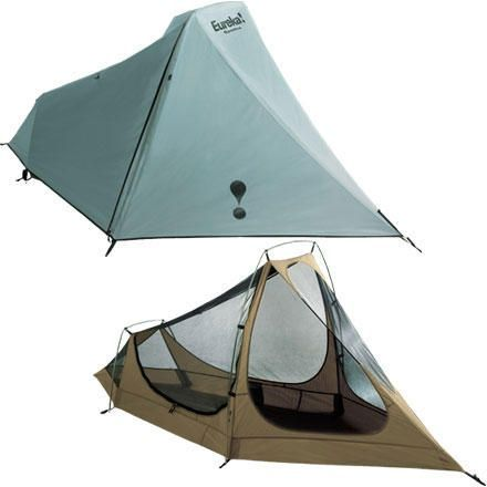Eureka Spitfire 2 Tent: 2-Person 3-Season 4lb 3oz. I think this one might be a winner
