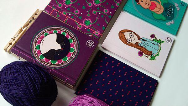Libretas Ilustradas on Behance Melisa Amaya Ilustradora & diseñadora © Todos los Derechos Reservados