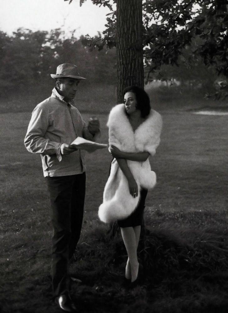 Jeanne Moreau + Michelangelo Antonioni - La Notte - 1961