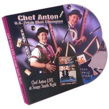 Chef Anton Live at Soapy Smith Night (2 Disc Set) - DVD