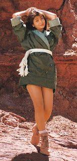 Aishwarya Rai Bachchan in her early modeling days..