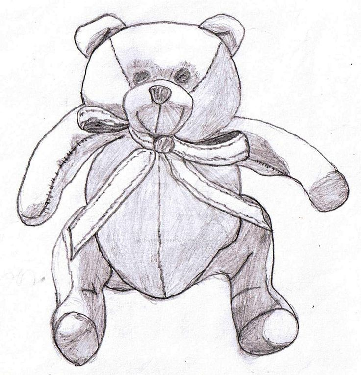 teddy bear by marsquiek10244.deviantart.com on @DeviantArt