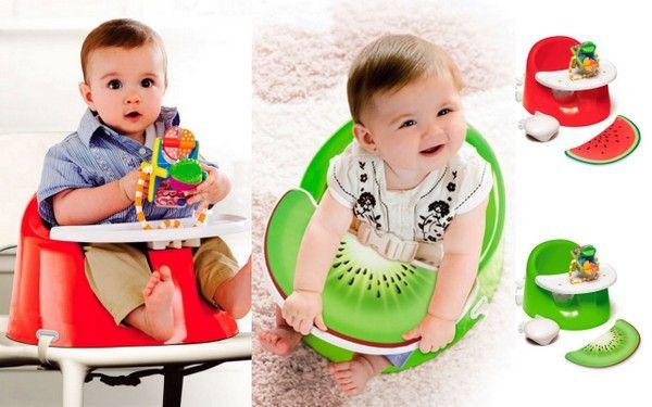 Sillón y trona a la vez Un regalo perfecto para #bebes #gemelos #twins desde 3 meses a 14 meses