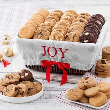 Mrs. Fields® Christmas Cookie Gift Basket