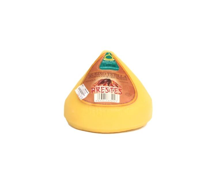 """Queso Gallego D.O.P. de Tetilla PRESTES 1 kg. / Galician Cheese D.O.P. """"Tetilla"""" PRESTES 1 kg."""