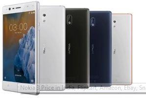 Nokia 3 Price in India, #Flipkart, #Amazon, #Ebay, #Snapdeal, #Shopclues, #Paytm, Etc.