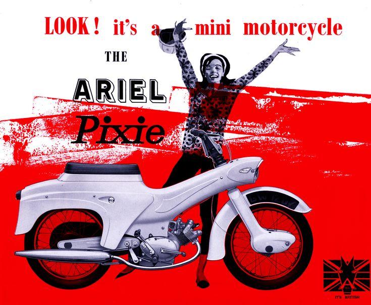 ARIEL Pixie 50cc 4T 1963