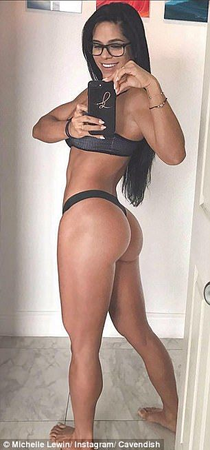In second place is Miami-based fitness instructor Michelle Lewin, 31, who has 12.6million followers.